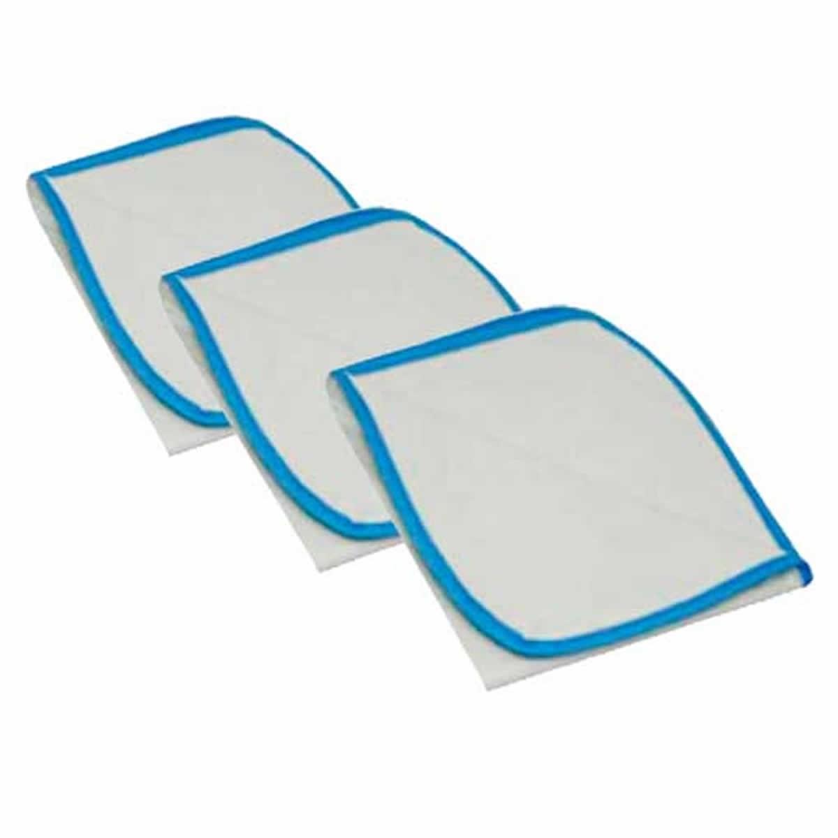 Tapete Higiênico Lavável São Pet Azul Tamanho M - Kit com 3 Unidades