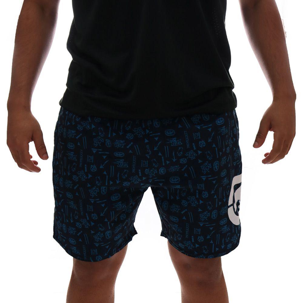 Bermuda Ecko Volley Sintetica Marinho