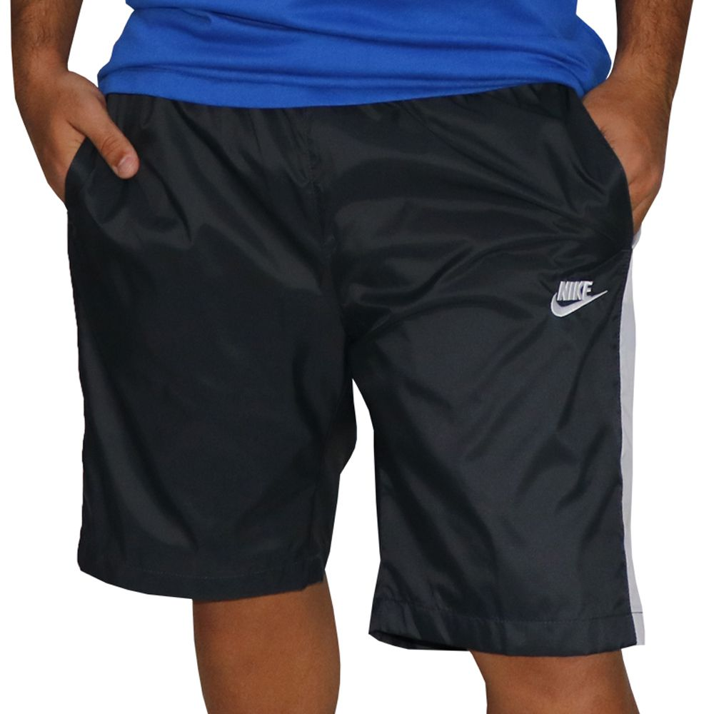 Bermuda Nike Sportswear Track Cinza
