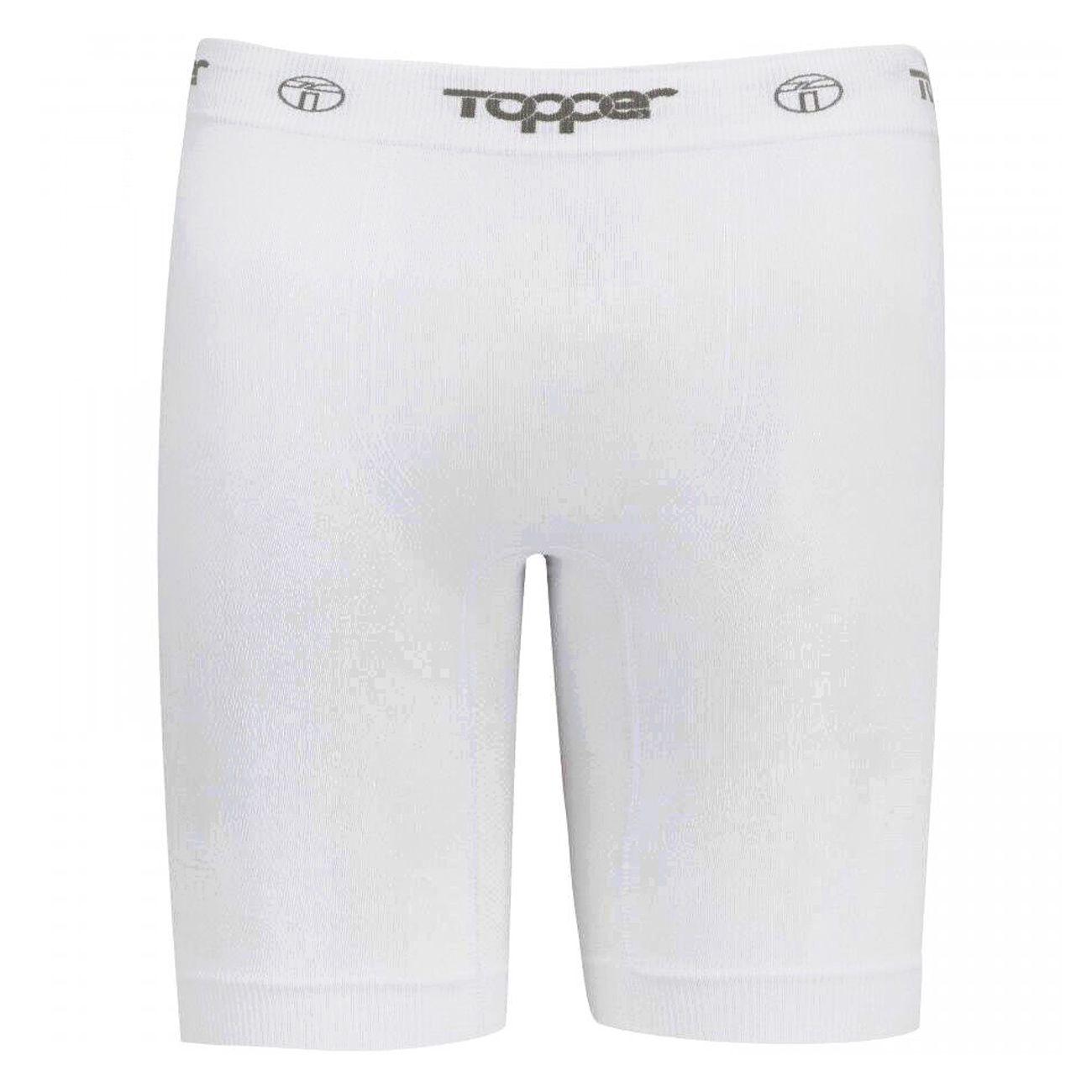 Bermuda Térmica Topper Sem Costura Branco