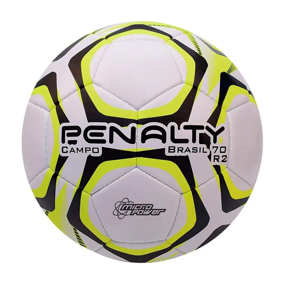 Bola Penalty Campo Brasil 70 R2 IX Amarela