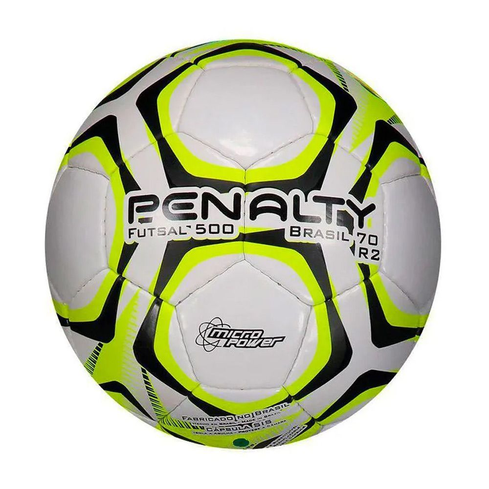 Bola Penalty Futsal Brasil 70 R2 IX Amarela