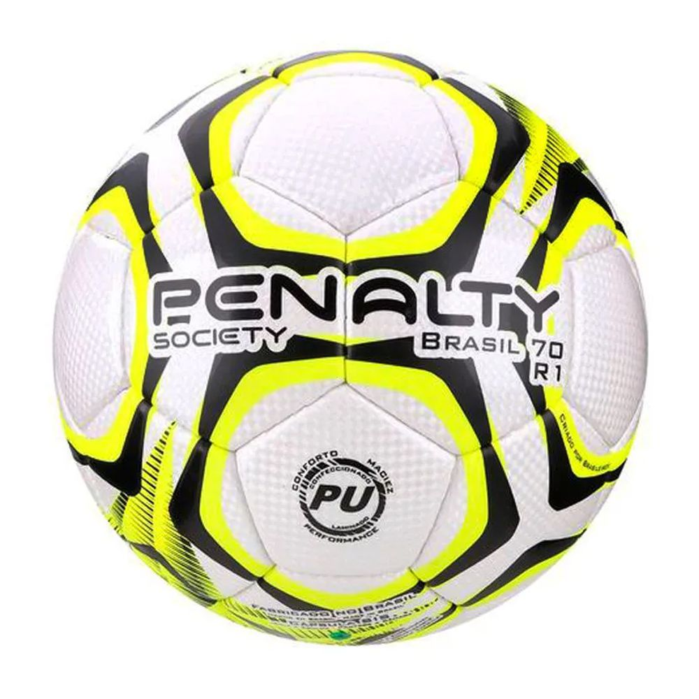 Bola Penalty Society Brasil 70 R1 IX Amarela