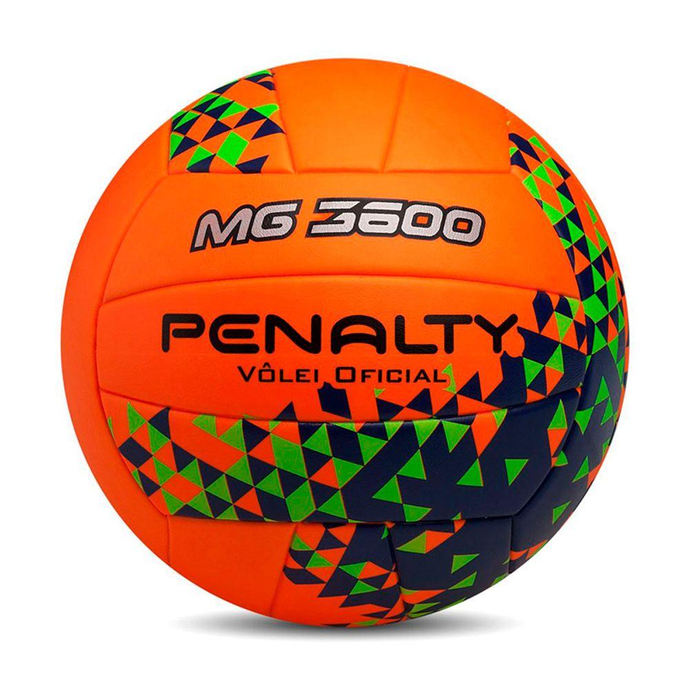 Bola Penalty Vôlei MG 3600 Fusion VIII Laranja