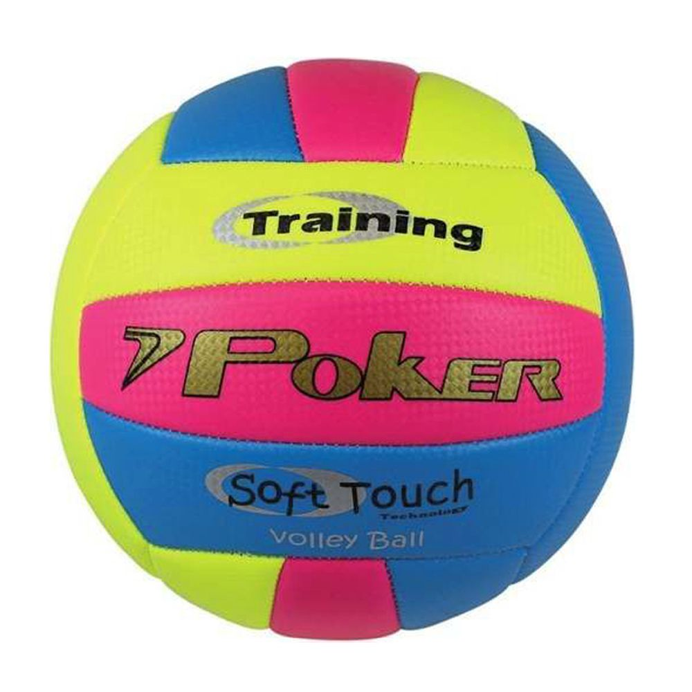 Bola Poker Vôlley Ball Training Neon