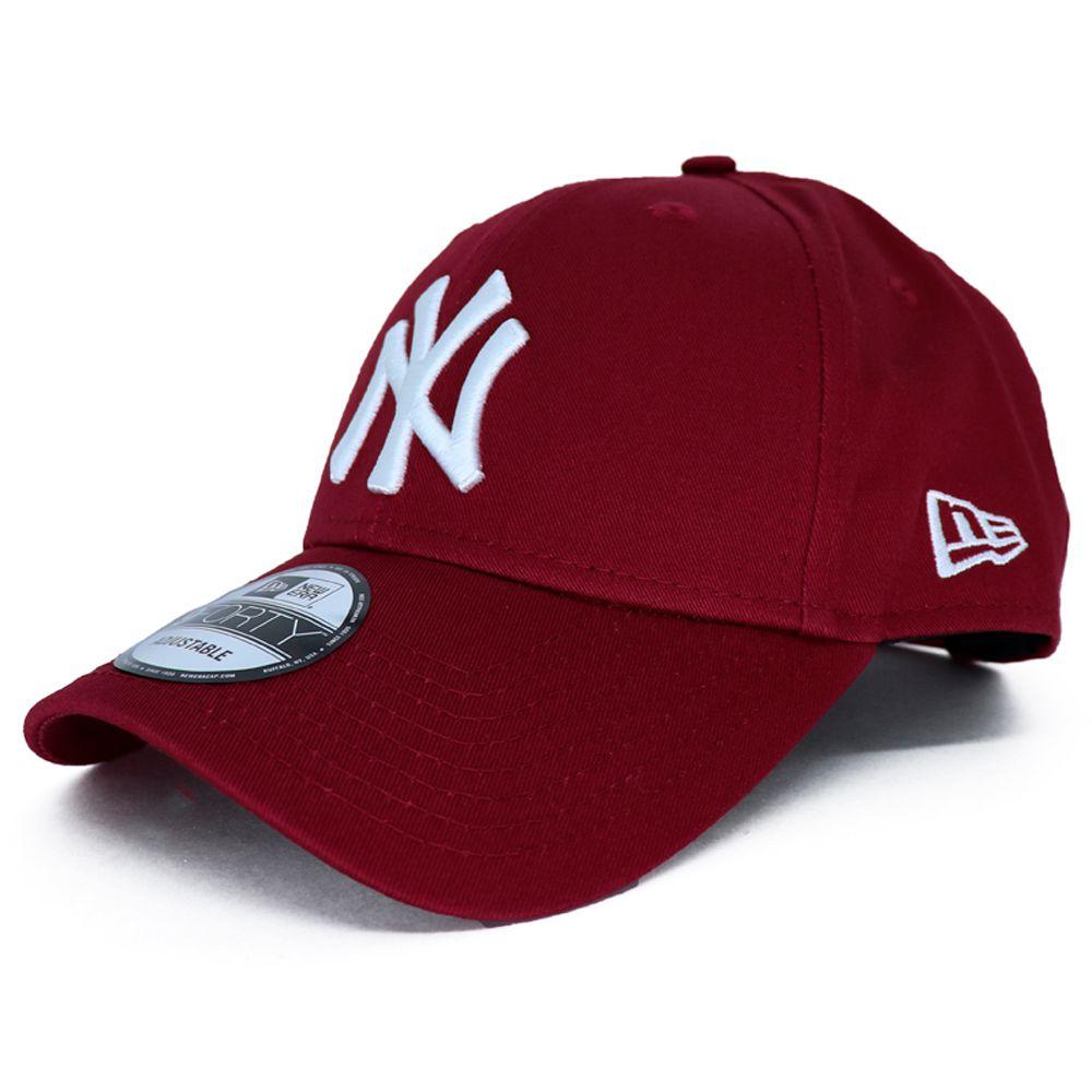 Boné New Era MLB New York Yankees 940 Vermelho