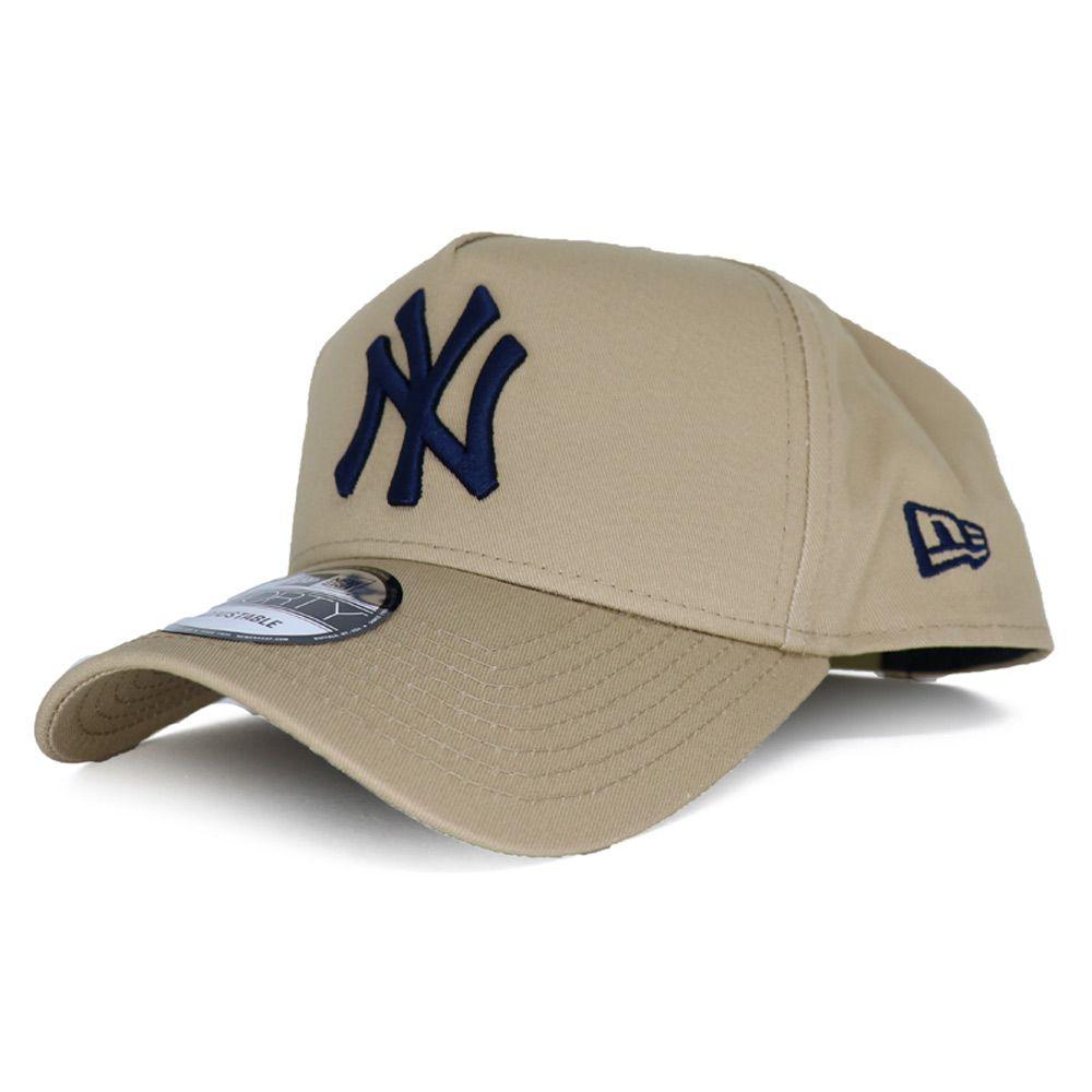 Bone New Era Mlb New York Yankees Basic 940 Bege