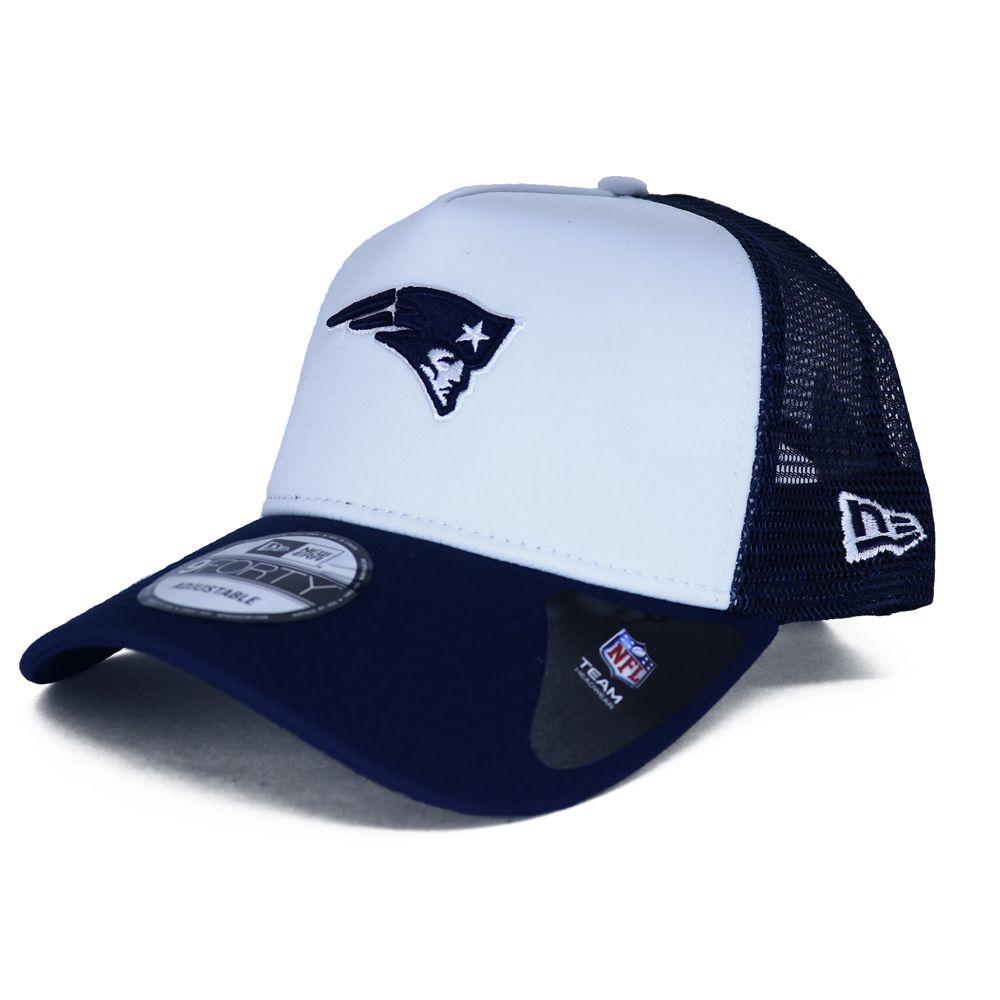 Boné New Era NFL Patriots 90s Trucker
