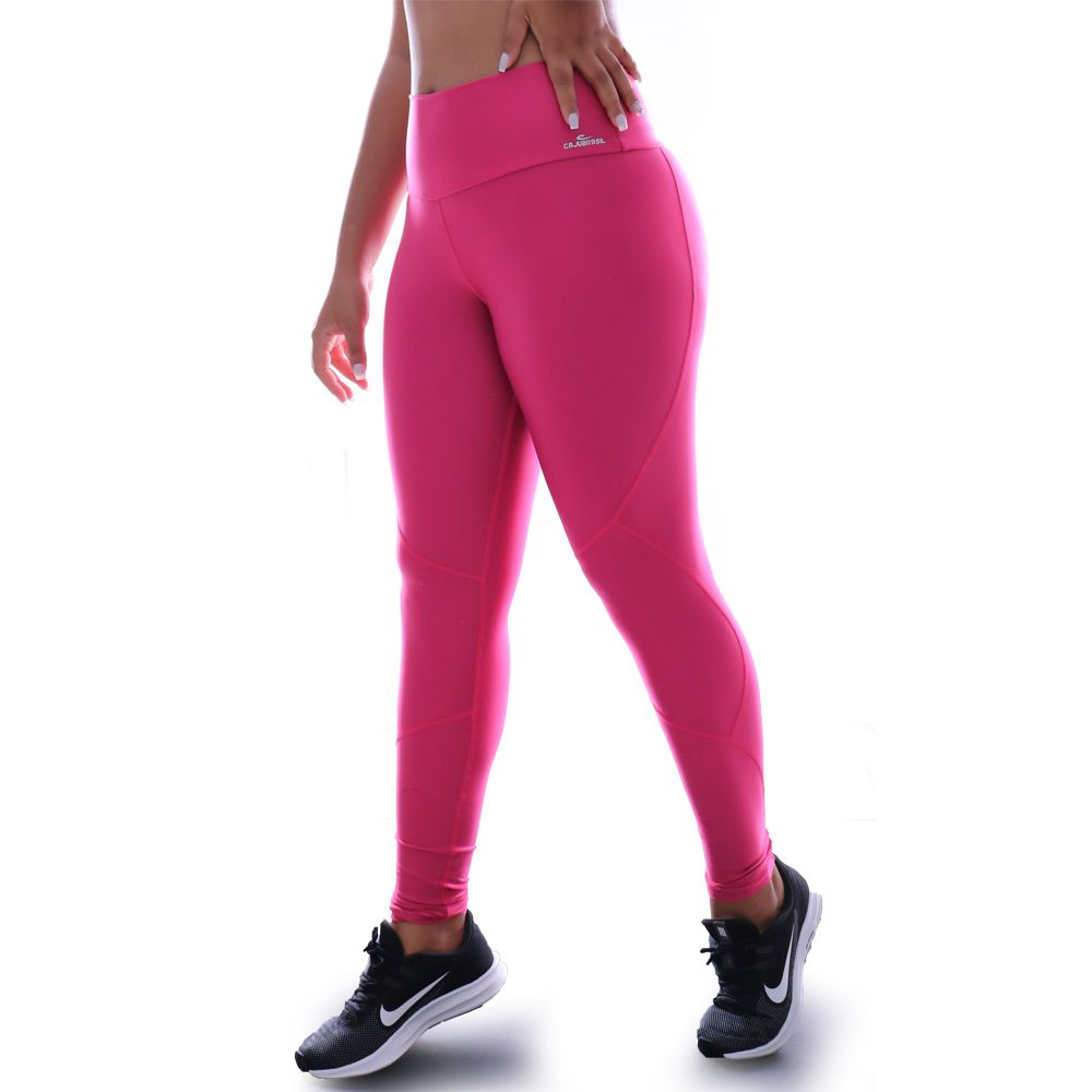 Calça Legging Caju Brasil Atletika New In Classic Rosa