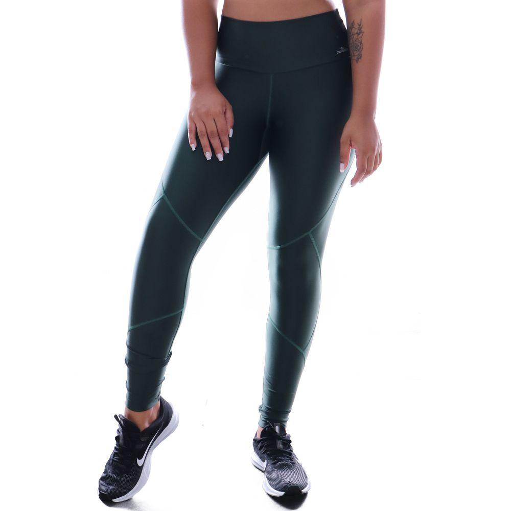 Calça Legging Caju Brasil Atletika New In Classic Verde
