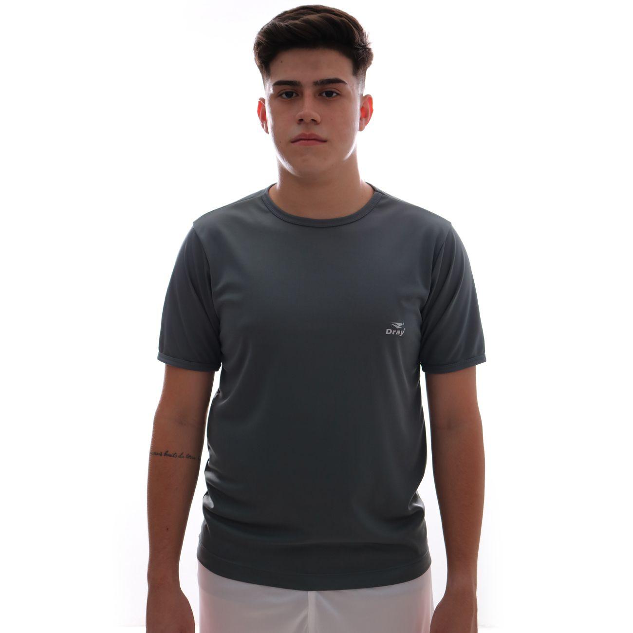 Camisa Dray Basic Chumbo