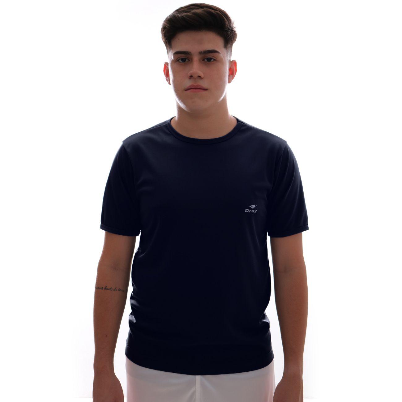 Camisa Dray Basic Marinho