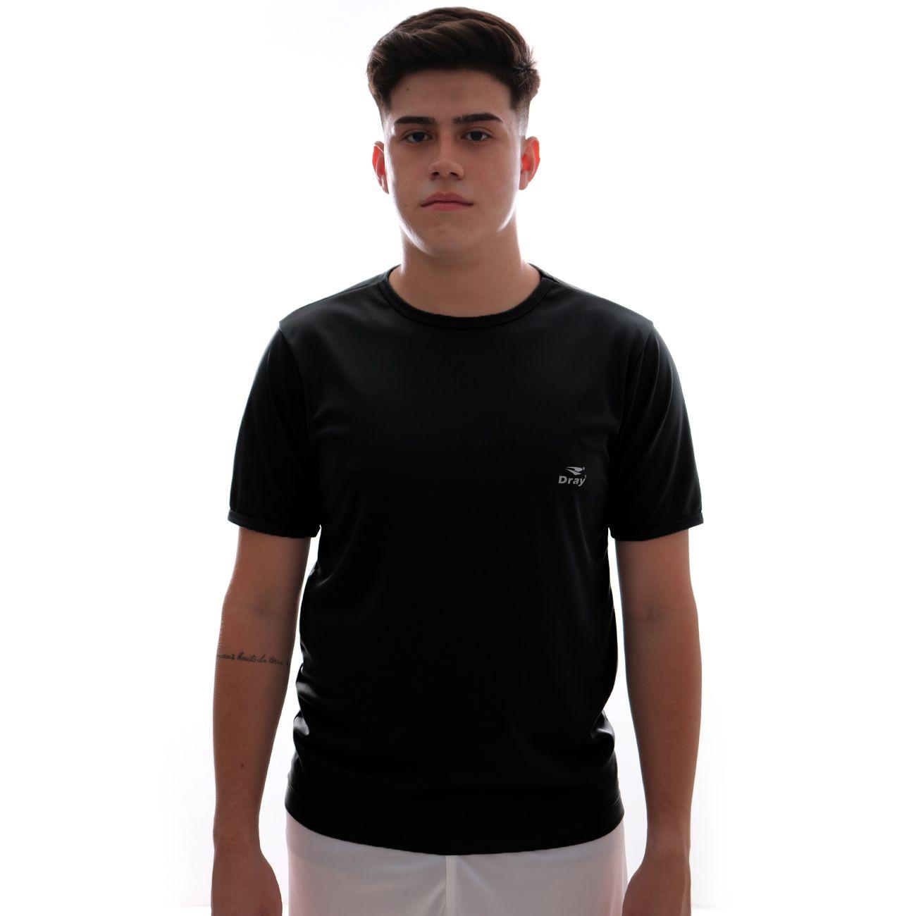 Camisa Dray Basic Preto