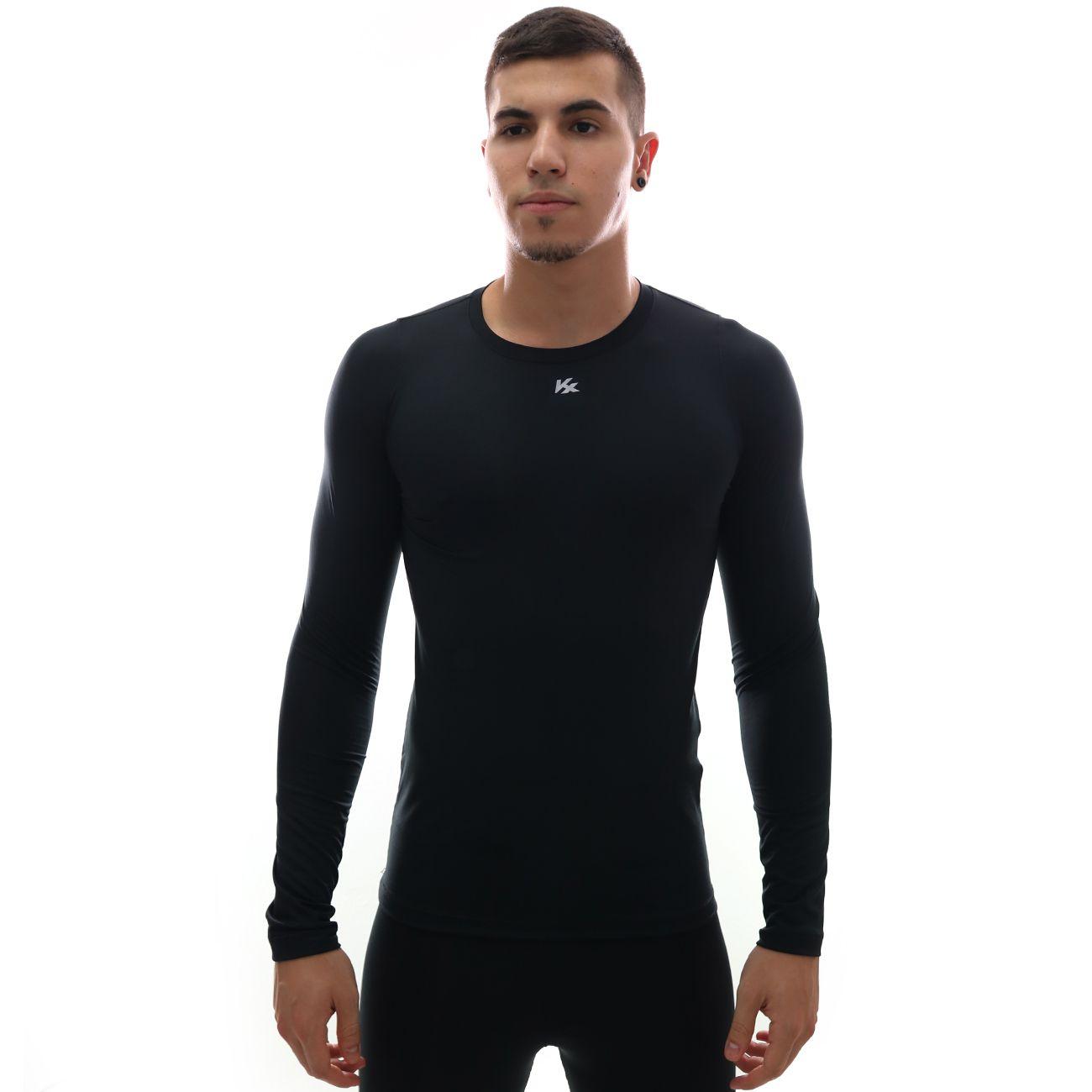 Camisa Kanxa Alta Compressão KX M/L Preto