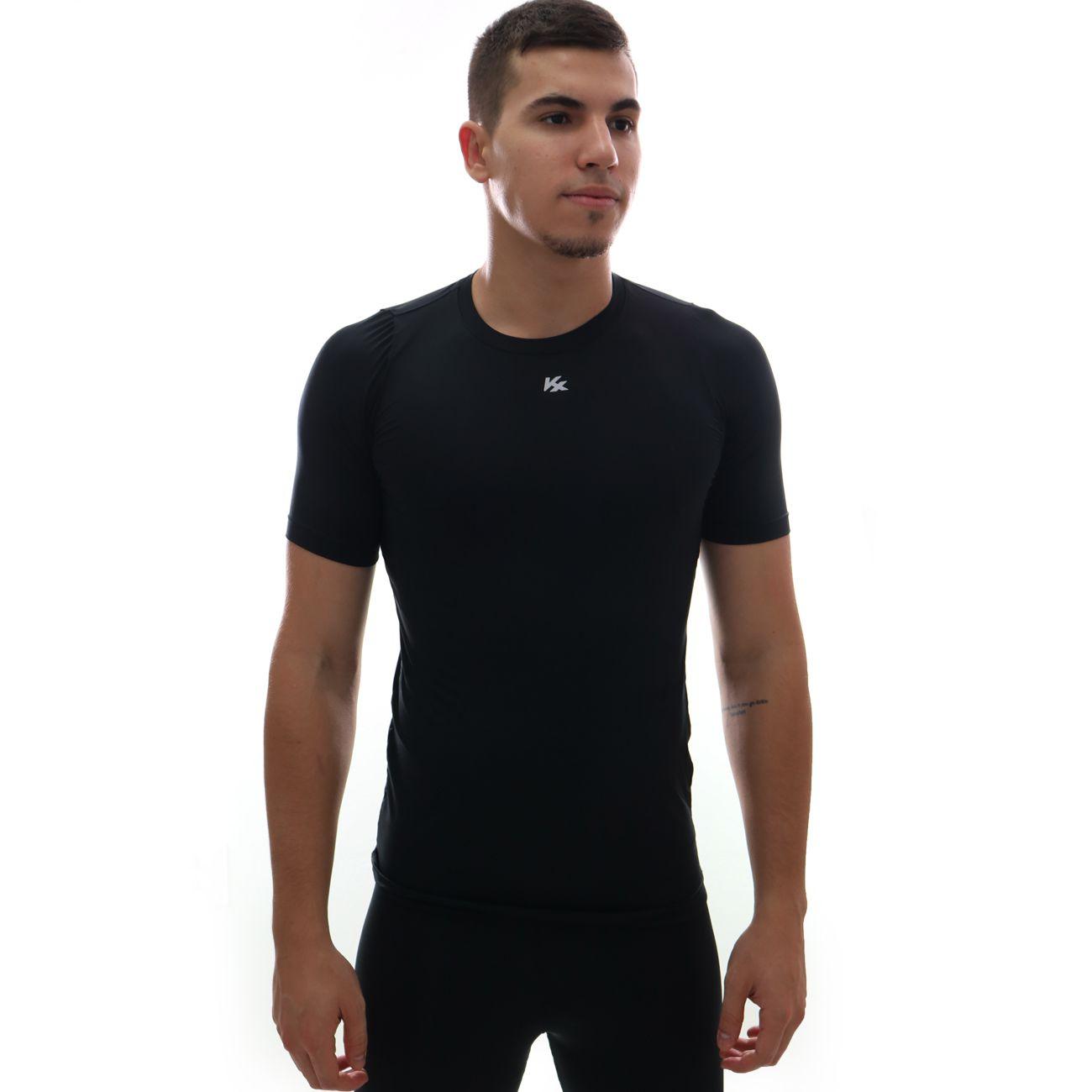 Camisa Kanxa Alta Compressão Kx Preto