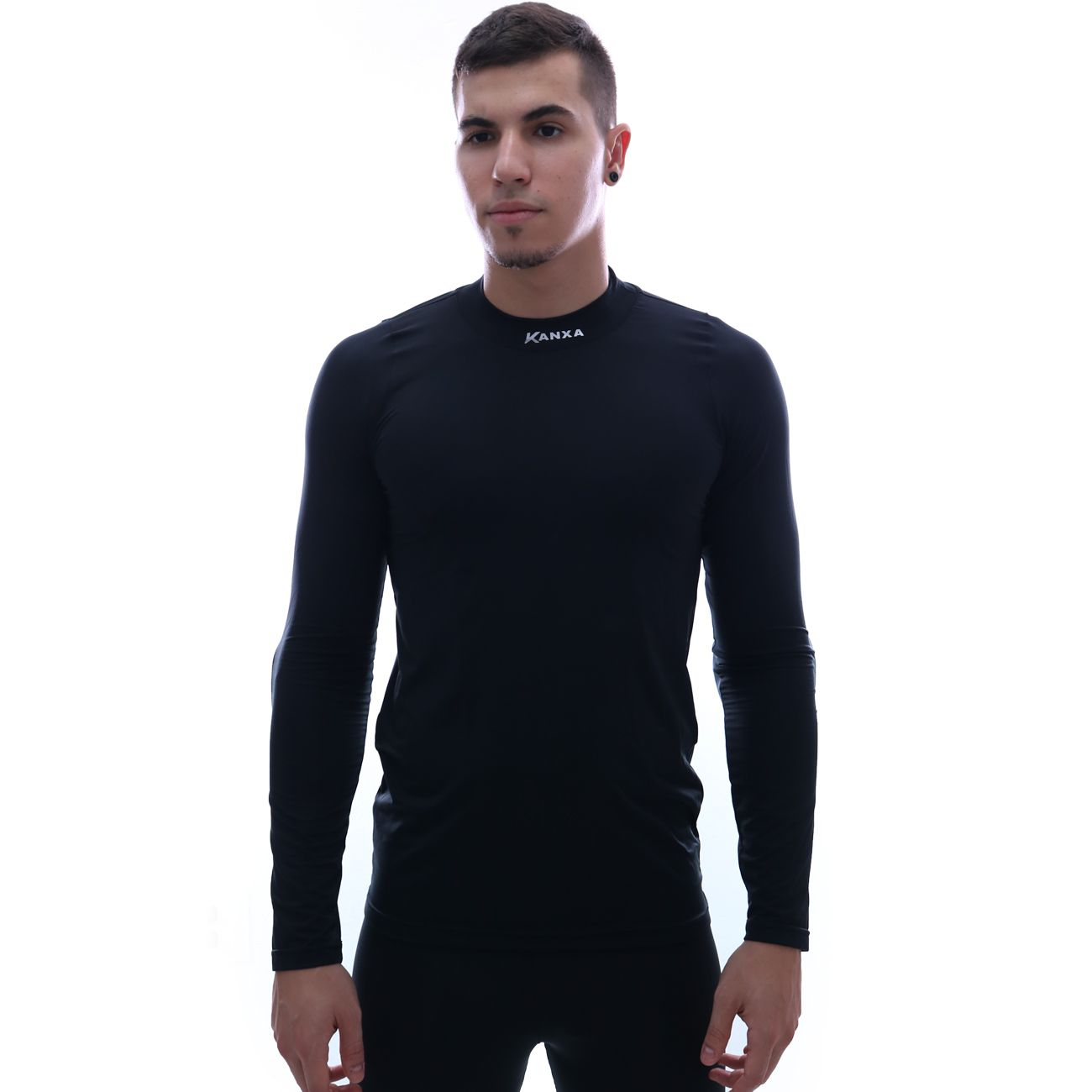 Camisa Kanxa Strech Goleiro Preto