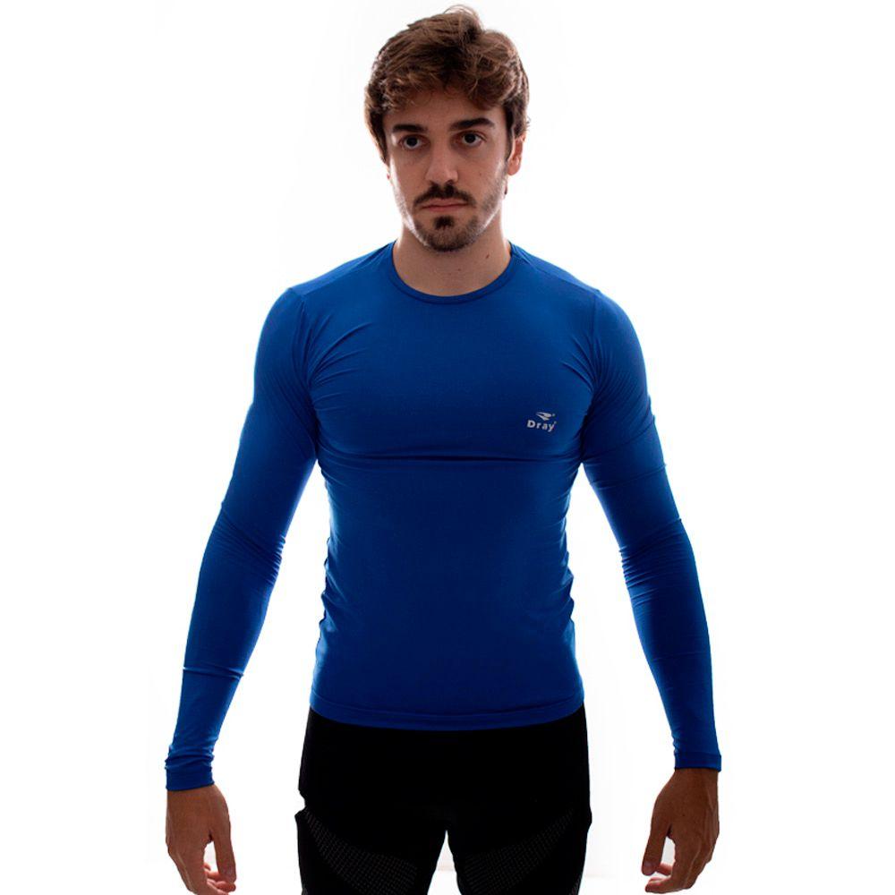 Camisa Térmica Dray ML Azul