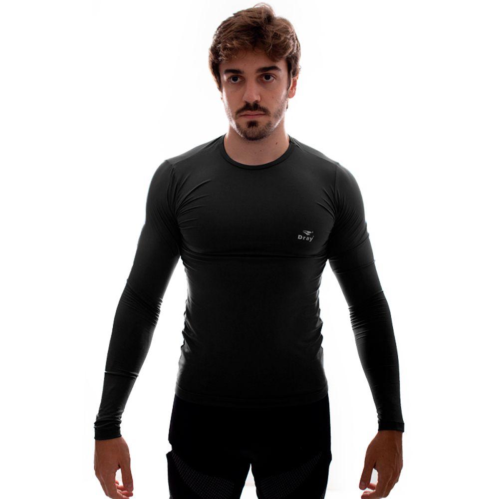 Camisa Térmica Dray ML Preto