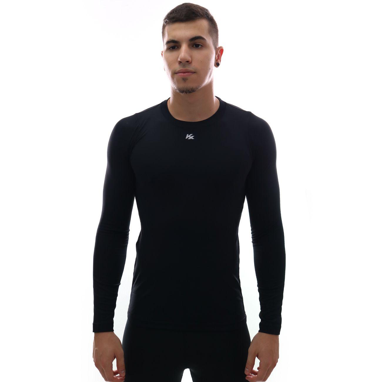 Camisa Térmica Kanxa Segunda Pele M/L Preto