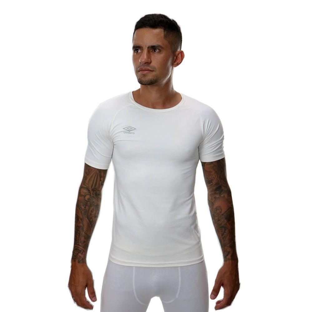Camisa Térmica Umbro TWR Graphic Branco