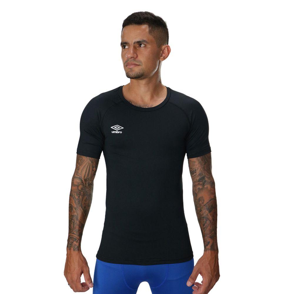 Camisa Térmica Umbro TWR Graphic Preto