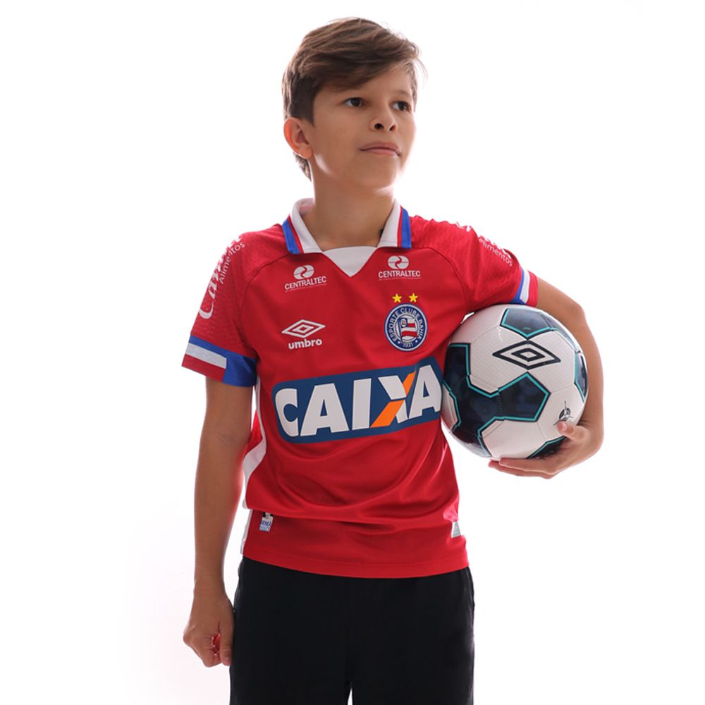 Camisa Umbro Bahia III 2017 Juvenil