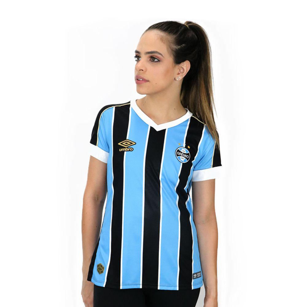 Camisa Umbro Gremio I 2019 Feminina