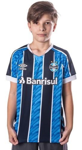 Camisa Umbro Grêmio I 2020 Juvenil