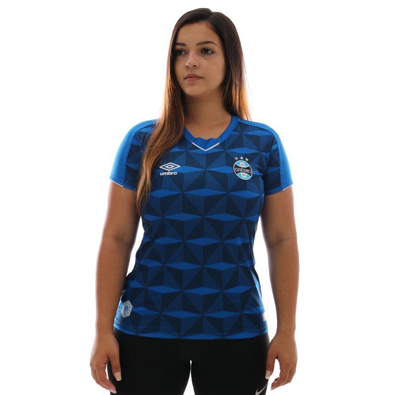 Camisa Umbro Grêmio III 2019 Feminina