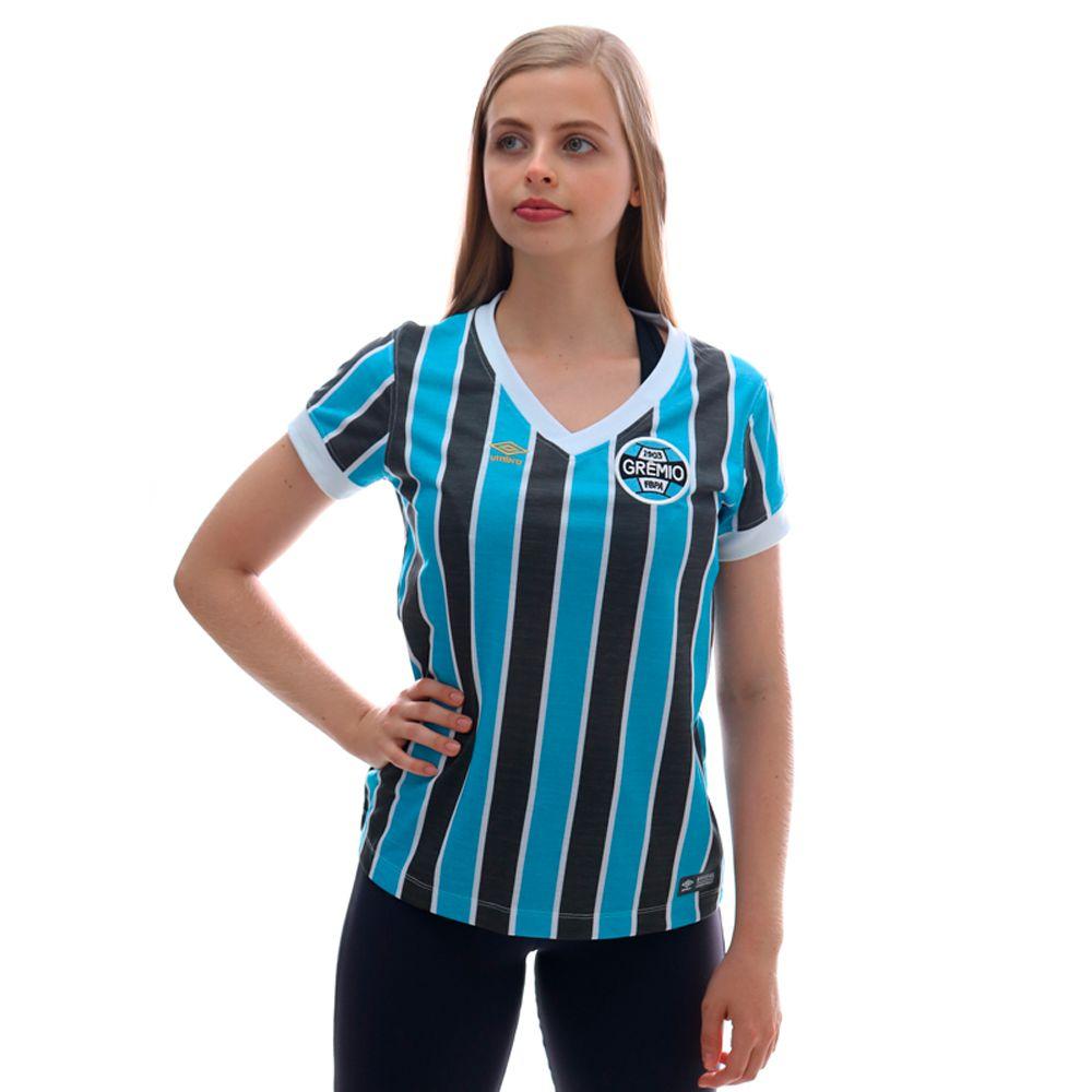 Camisa Umbro Grêmio Retro 1983 Feminina