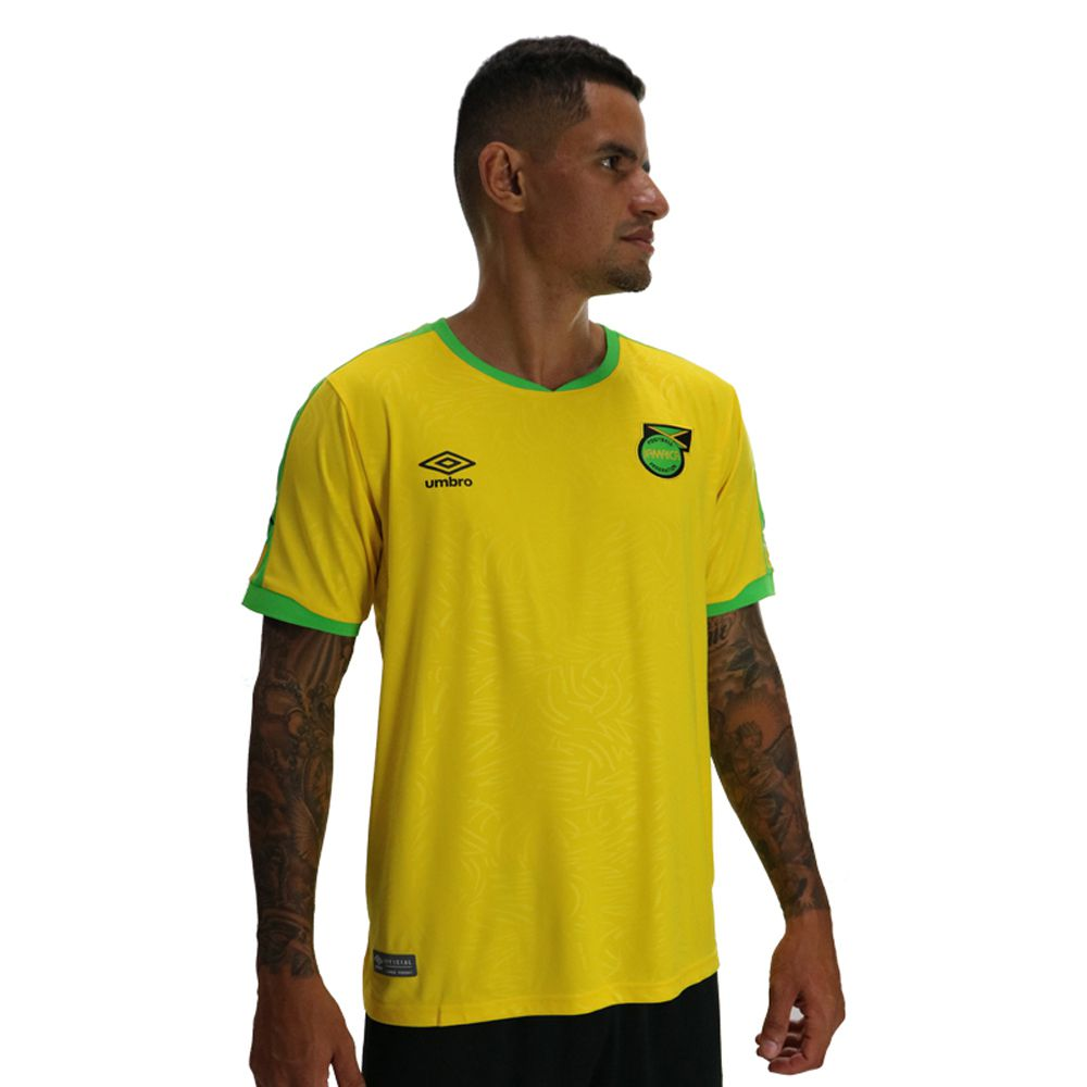 Camisa Umbro Jamaica Home 2019