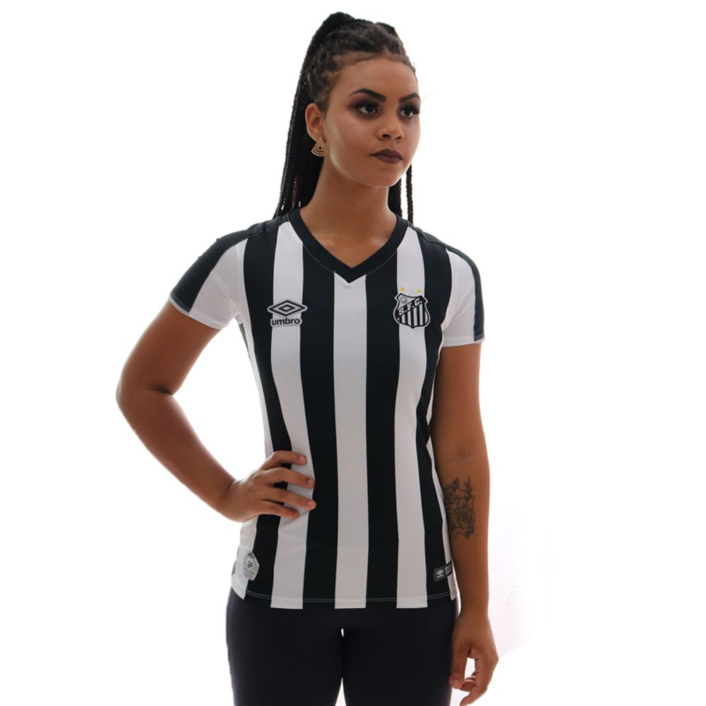 Camisa Umbro Santos II 2019 Feminina