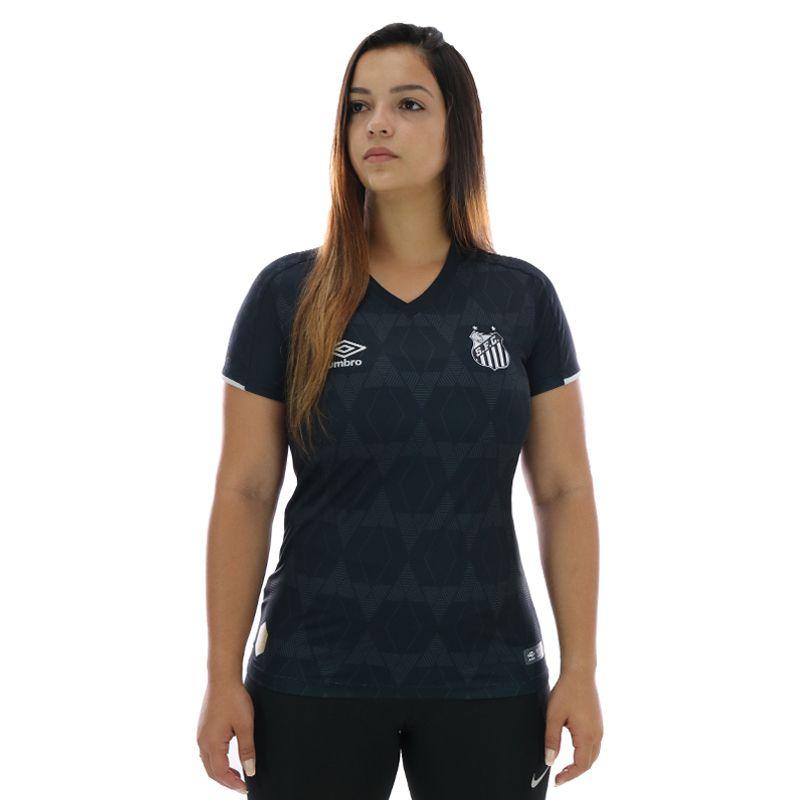 Camisa Umbro Santos III 2019 Feminina