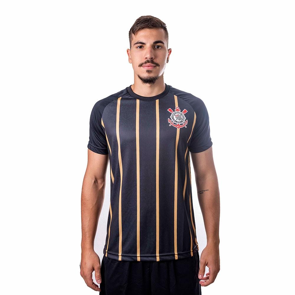 Camiseta Corinthians Golden Raglan