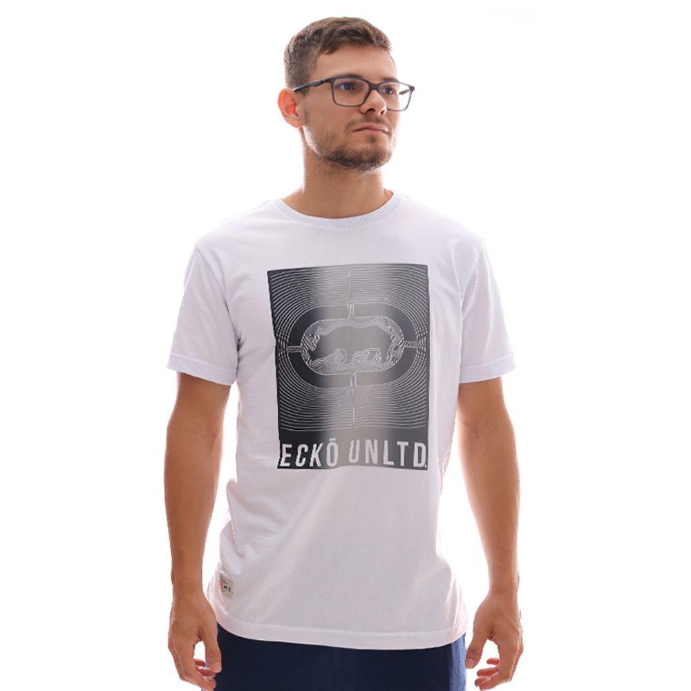 Camiseta Ecko Estampada Branco Masculina