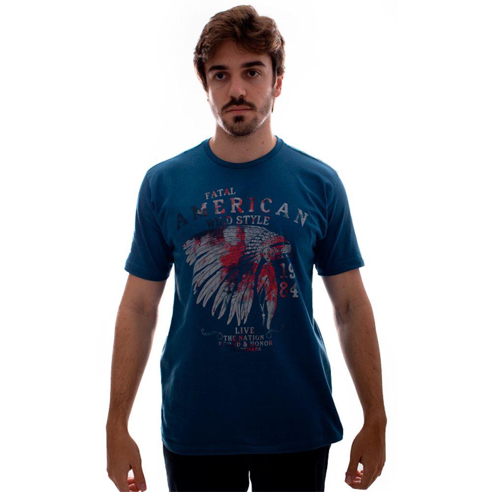 Camiseta Fatal Estampada