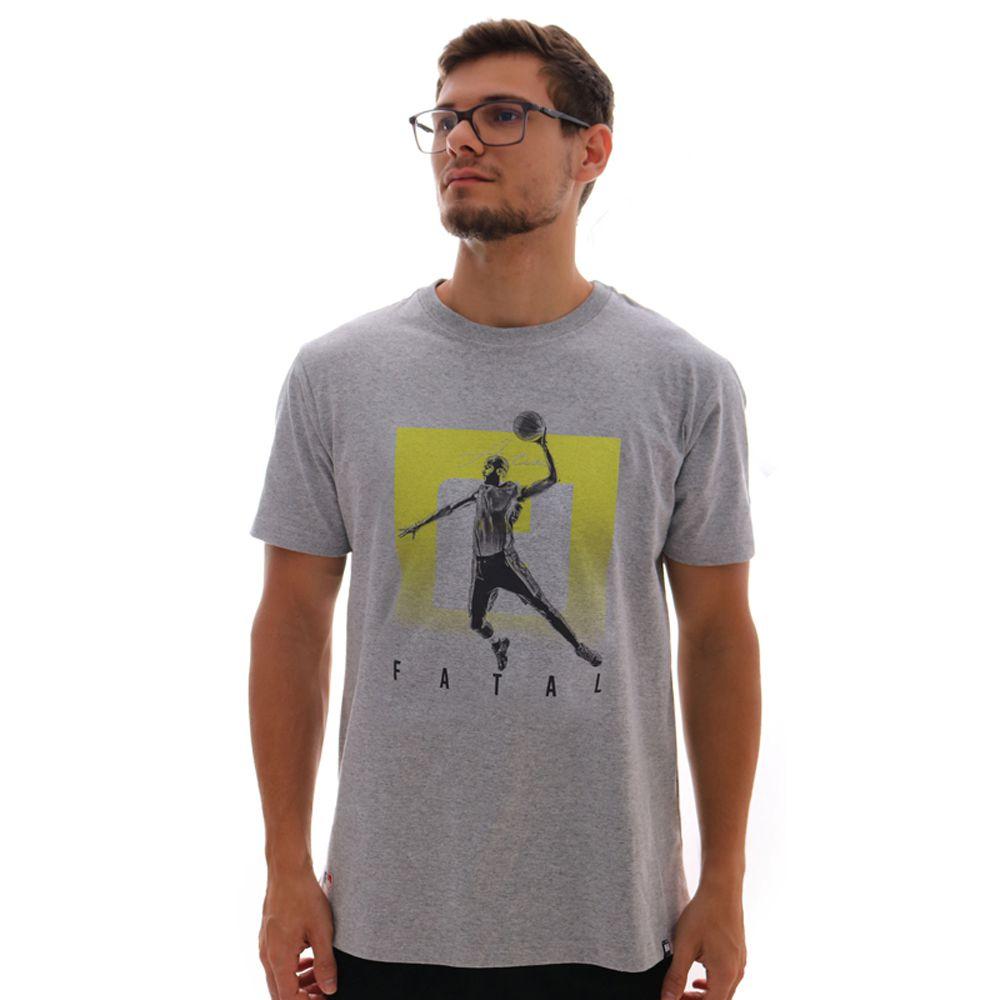 Camiseta Fatal Estampada FT Mescla