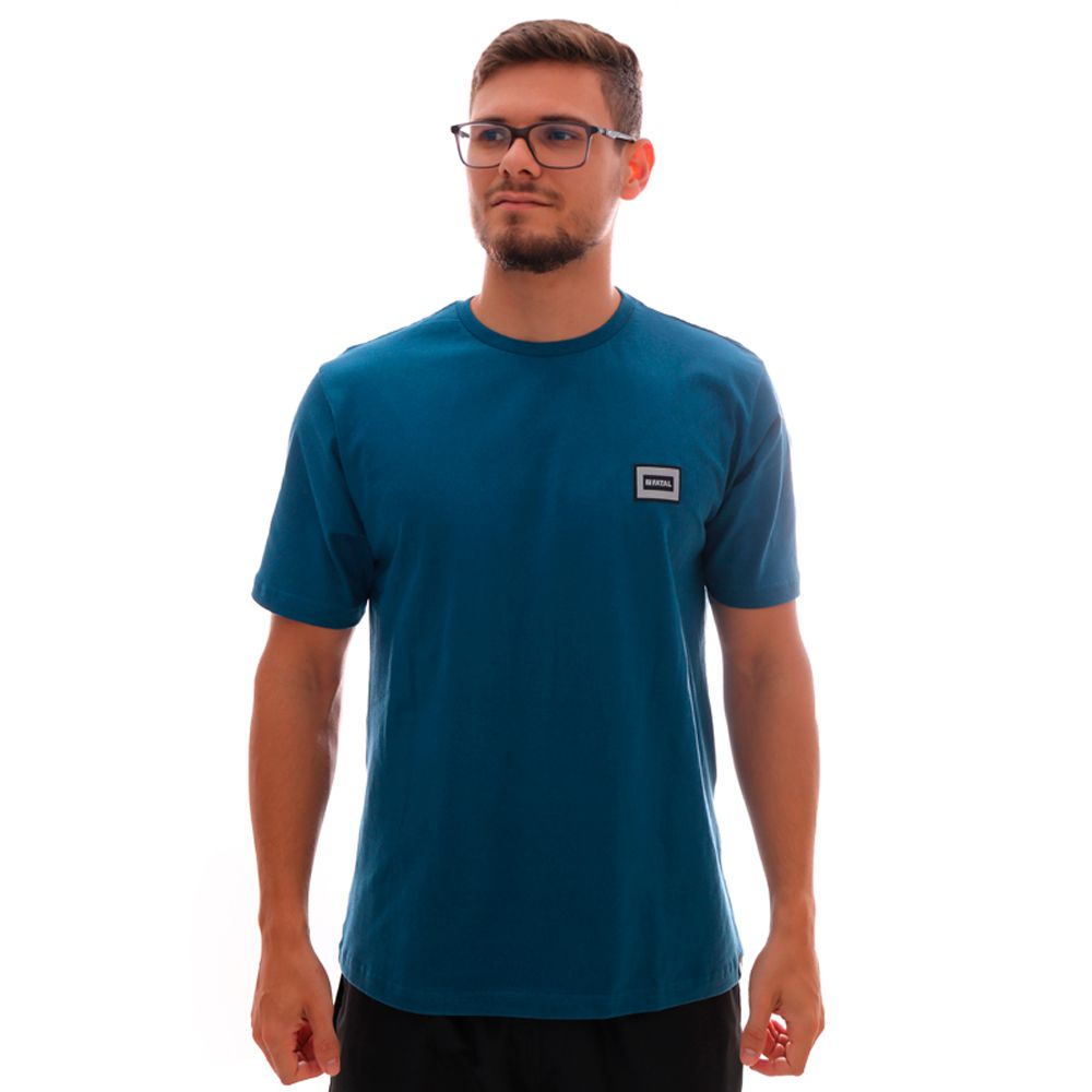 Camiseta Fatal Fashion Basic Azul Escuro