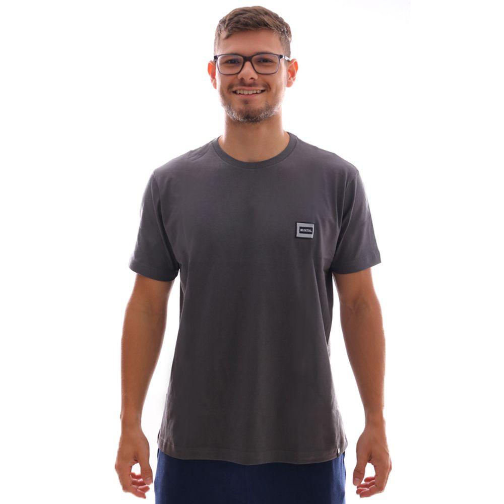 Camiseta Fatal Fashion Basic Cinza Carvão