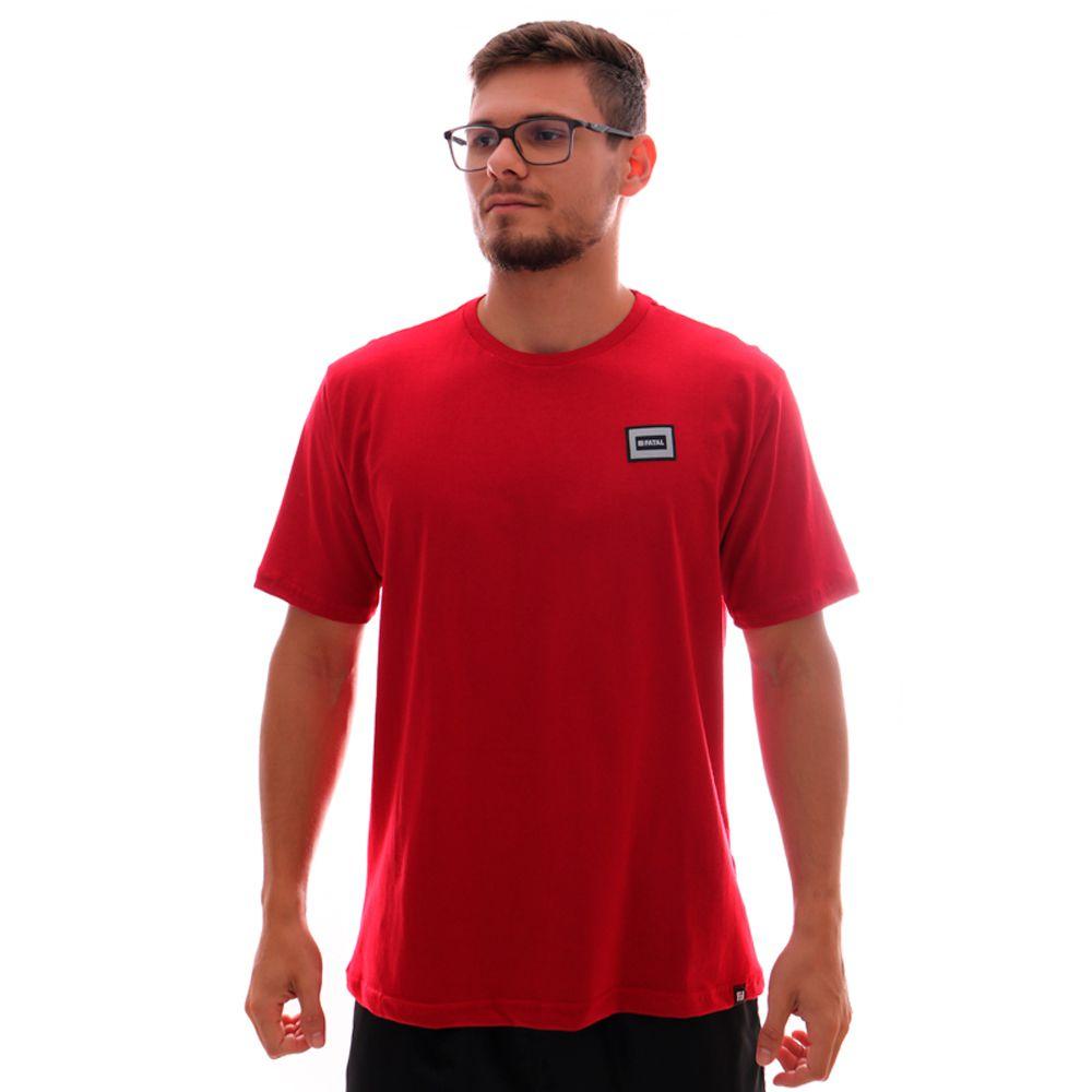 Camiseta Fatal Fashion Basic Vermelha