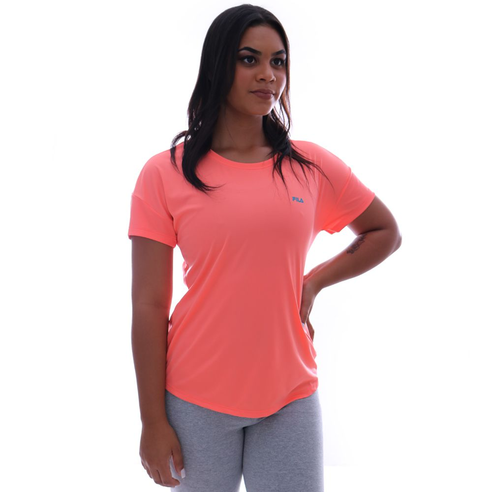 Camiseta Fila Basic Sports Feminino