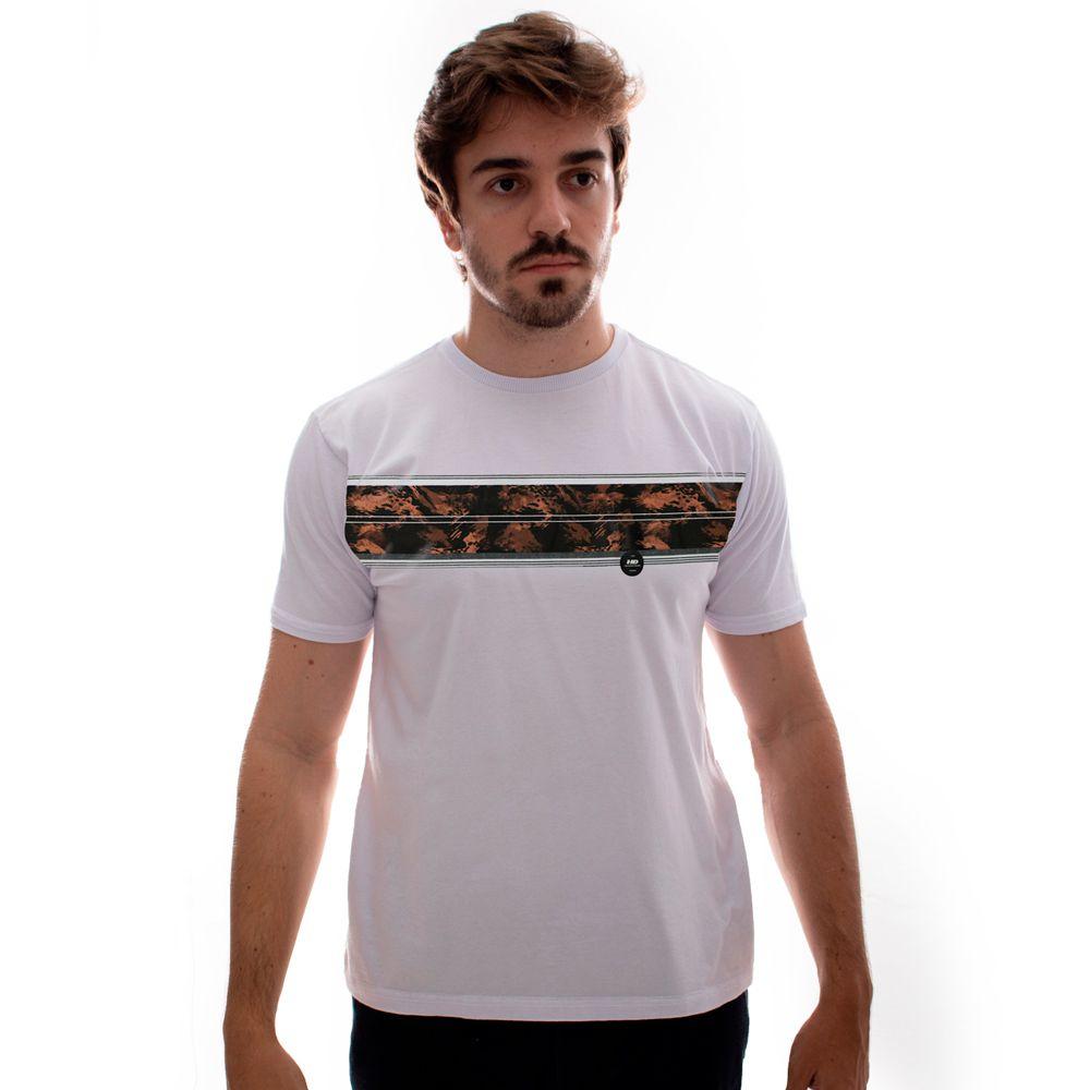 Camiseta HD Básica Gi Joe Branco Plus Size