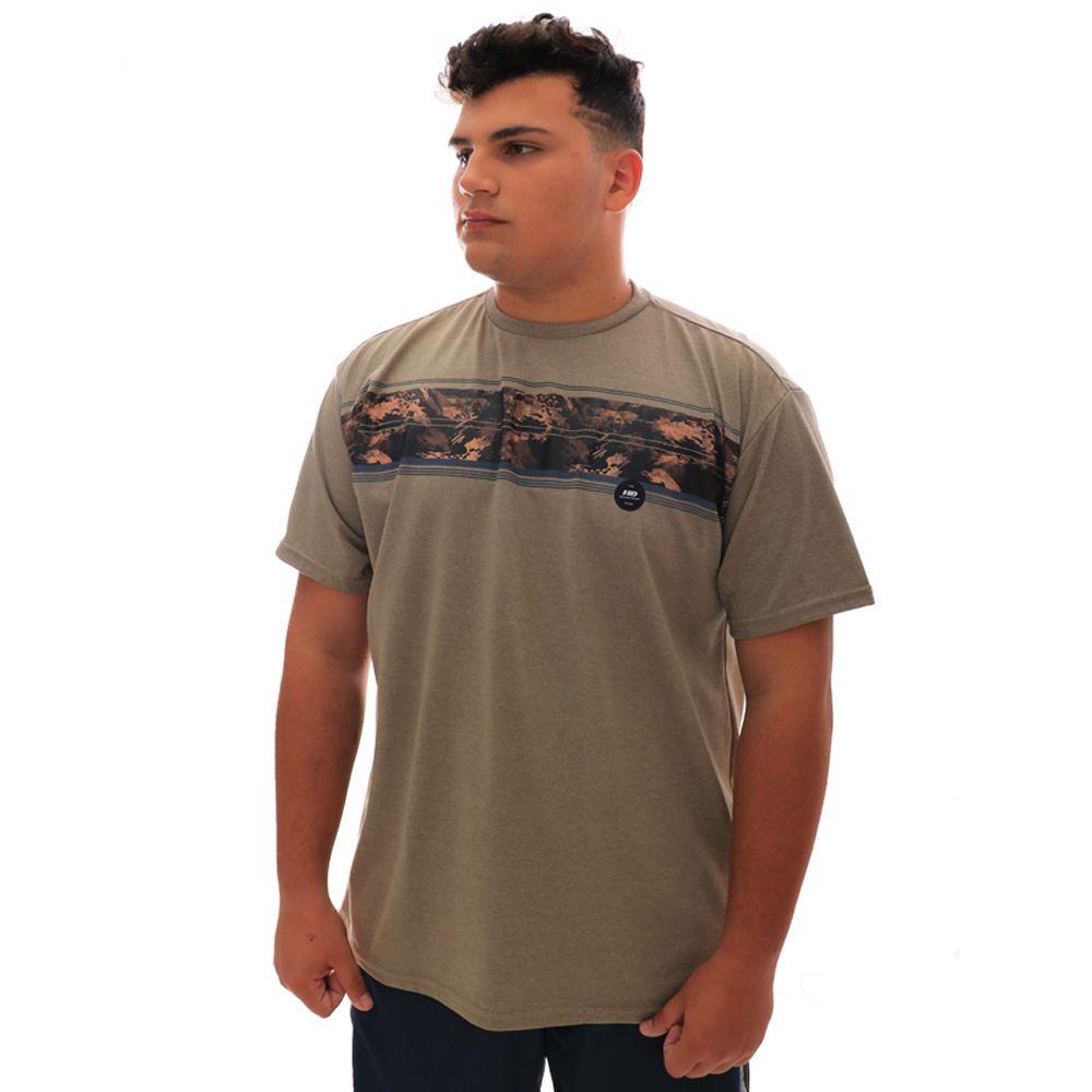 Camiseta HD Básica Gi Joe Cinza Plus Size