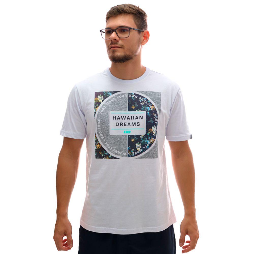 Camiseta HD Branch Branco