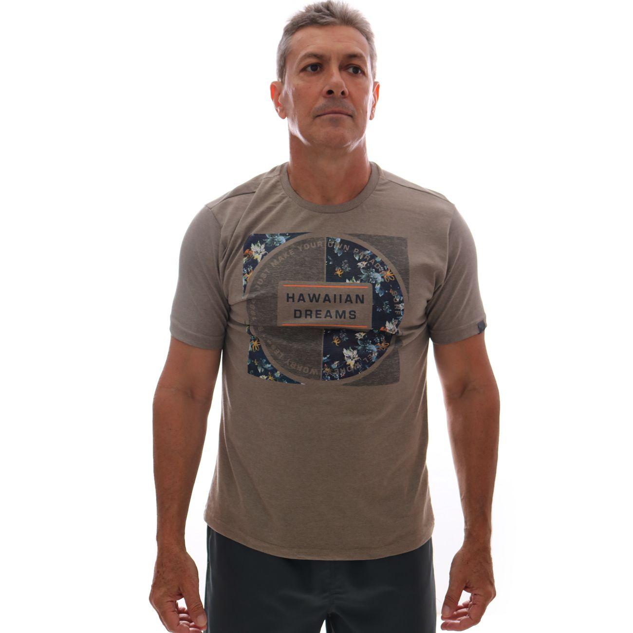 Camiseta HD Branch Khaki Mescla