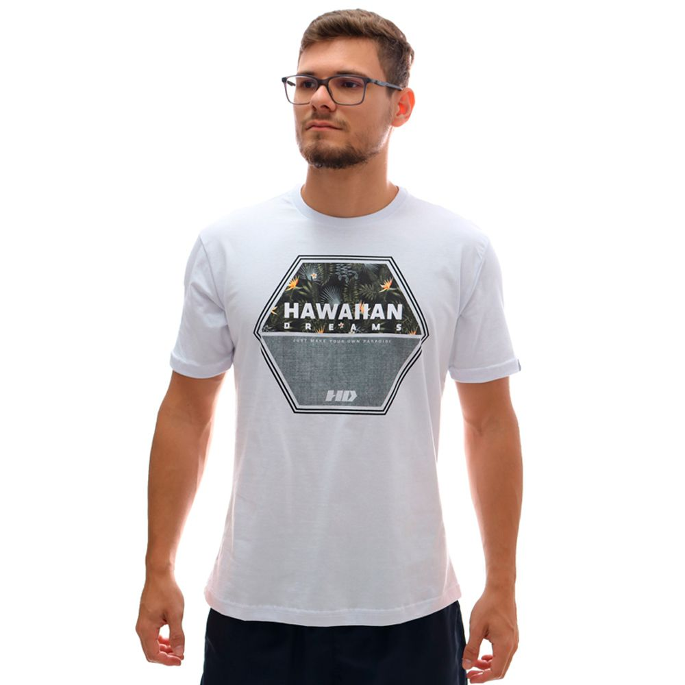 Camiseta Hd Dark Woods Branco
