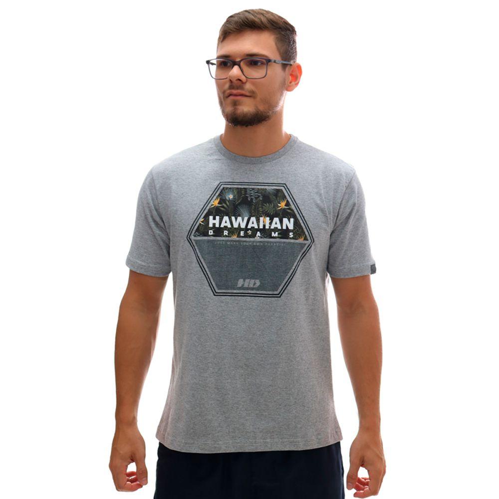 Camiseta HD Dark Woods Cinza Mescla