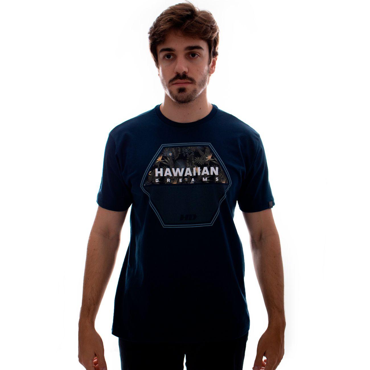 Camiseta HD Dark Woods Marinho