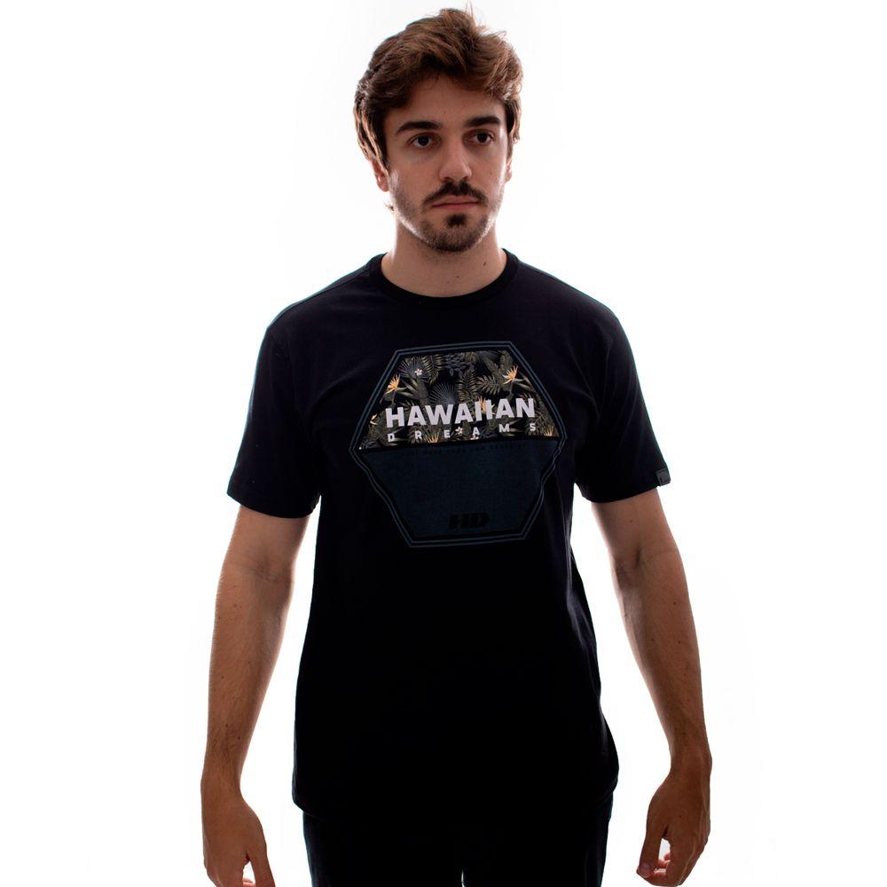 Camiseta HD Dark Woods Preto