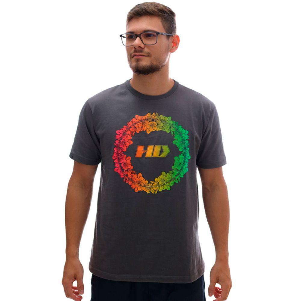 Camiseta HD Garden Chumbo